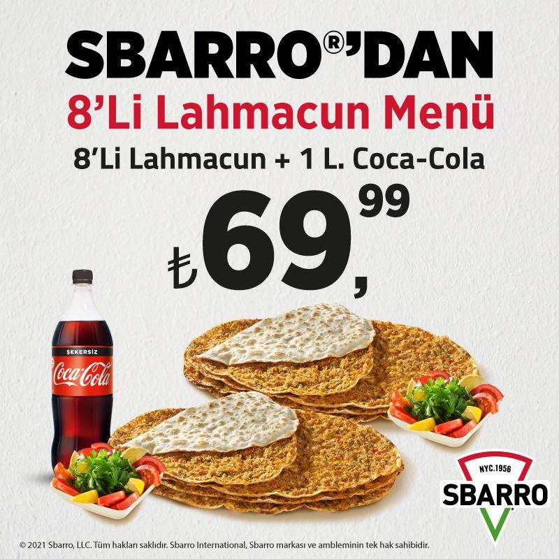 Sbarro 8'li Lahmacun